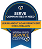 NHSC Corps Community Web Badge